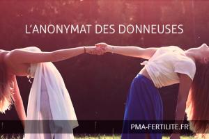 L'ANONYMAT DES DONNEUSES